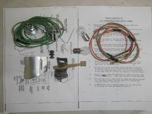 Holden FE FC Reverse Light Lamp Package 7406044